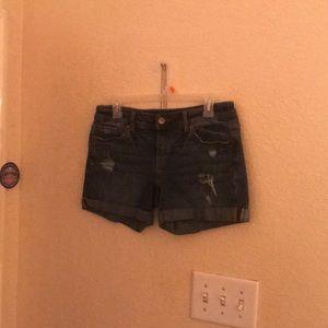 New Frayed Aero Boyfriend shorts